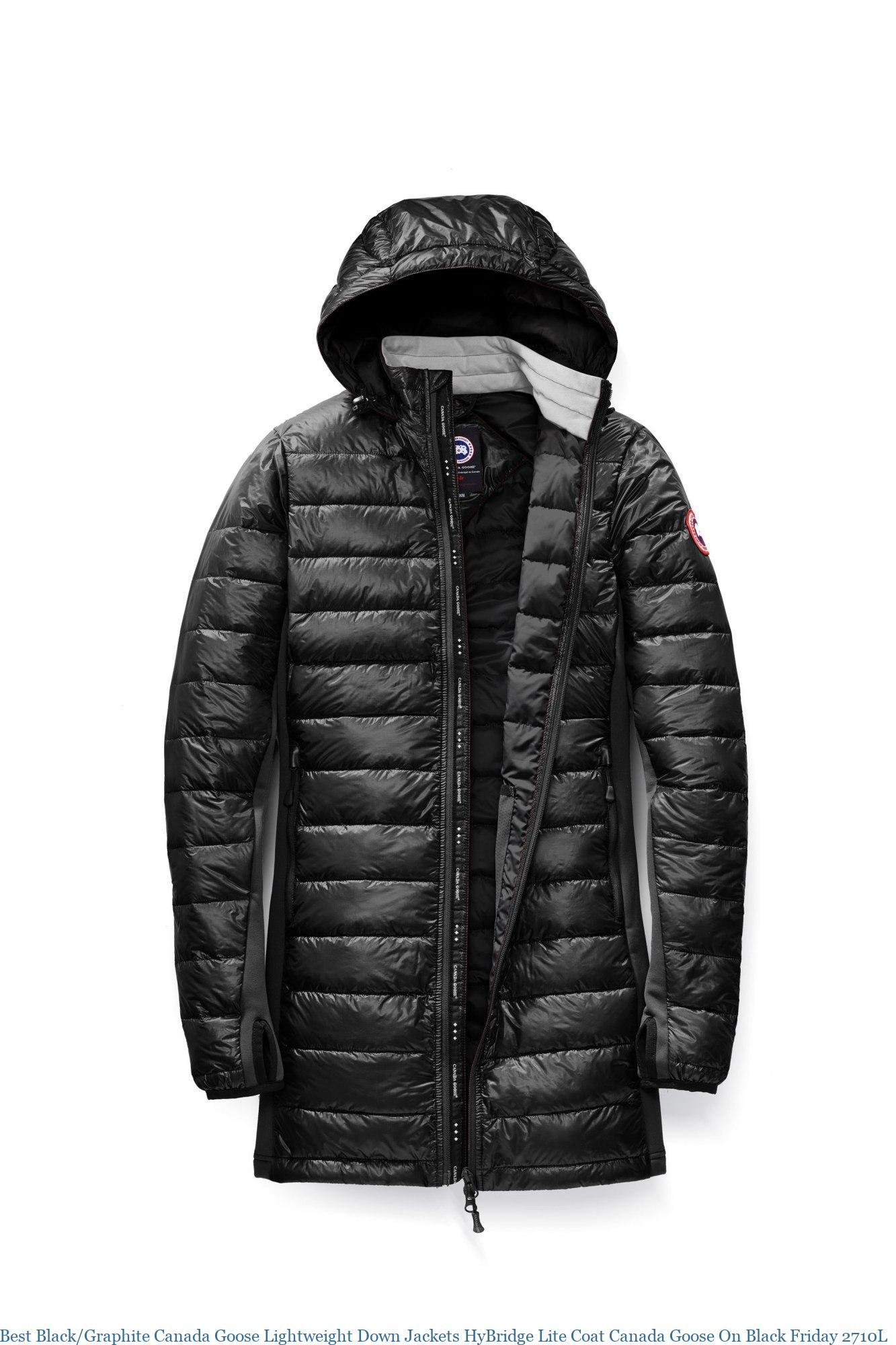 e54c889ca Best Black/Graphite Canada Goose Lightweight Down Jackets HyBridge Lite  Coat Canada Goose On Black Friday 2710L